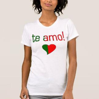 Te Amo! Portugal Flag Colors Shirt