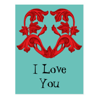 Te amo postales