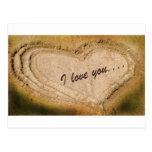 Te amo… postales
