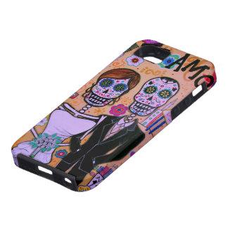 Te Amo que casa los delos Muertos del diámetro iPhone 5 Funda