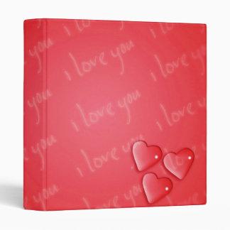 """Te amo rojo carpeta 1"""""""