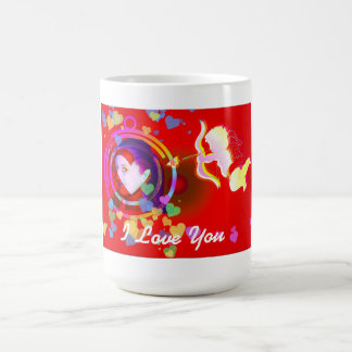 Te amo - rojo taza