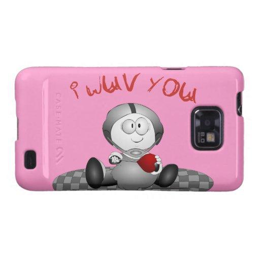 Te amo Samsung encajona Galaxy SII Carcasas