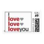 Te amo sello de x 3