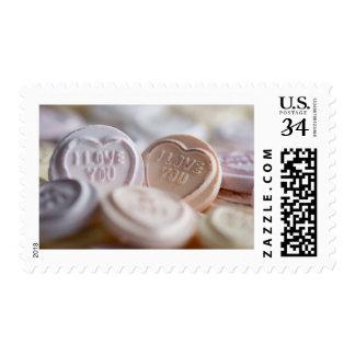 """""""Te amo"""" sellos de encargo de los E.E.U.U."""