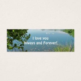 ¡Te amo siempre y para siempre! Tarjetas De Visita Mini
