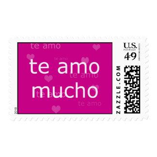 Te Amo Stamp