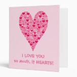 """Te amo tanto él corazón grande de los corazones carpeta 1"""""""