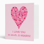 """Te amo tanto él corazón grande de los corazones mi carpeta 1"""""""