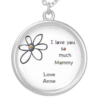 Te amo tanto mamá joyerias personalizadas