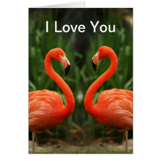Te amo tarjeta de felicitación
