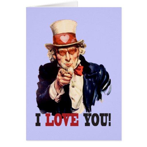 Te amo - tarjeta del día de San Valentín del estil