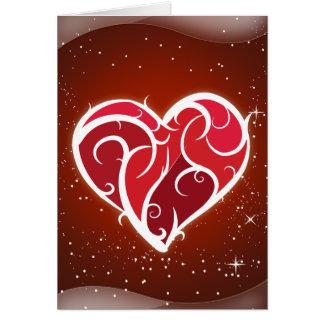 Te amo tarjeta del día de Valenines