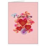 Te amo tarjetas