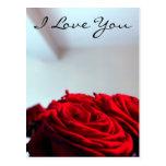 Te amo tarjetas postales