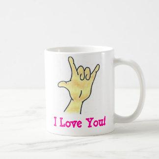 ¡Te amo! Taza