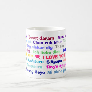 Te amo taza
