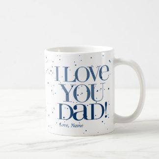 Te amo taza $20,95 del papá