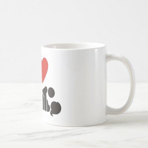 Te amo taza de café