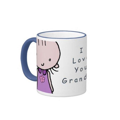 Te amo taza de la abuela