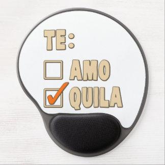 Te Amo Tequila Spanish Choice Gel Mouse Pad
