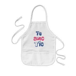 Te Amo Tio Kids' Apron