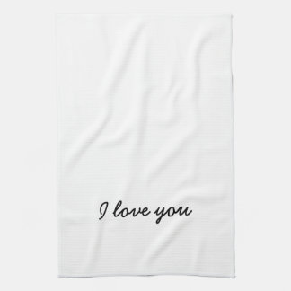 Te amo toalla. Su y el suyo - vea el otro anuncio Toalla