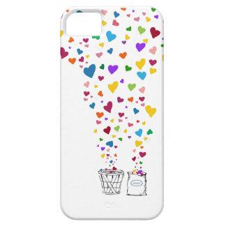 Te amo un celemín y un peck funda para iPhone SE/5/5s
