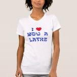 Te amo un Latke Camisetas
