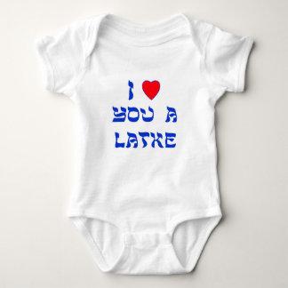 Te amo un Latke Camiseta