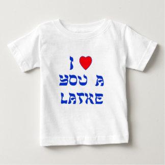 Te amo un Latke Playeras