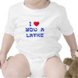 Te amo un Latke Trajes De Bebé
