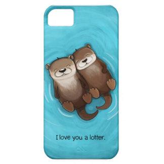 Te amo un Lotter iPhone 5 Fundas