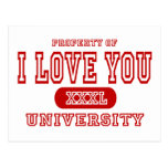 Te amo universidad postal