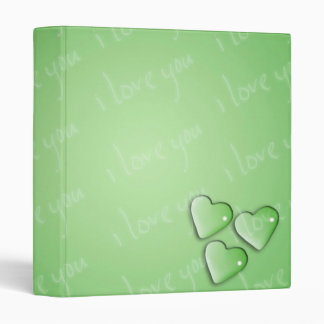 """Te amo verde carpeta 1"""""""