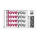 Te amo x 4 sellos