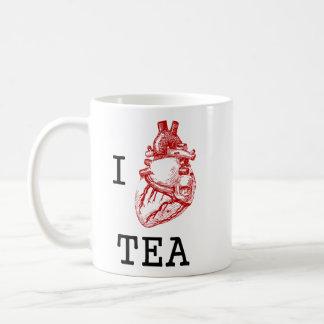 Té anatómico del corazón I Taza De Café
