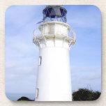 Te Araroa, New Zealand. A lighthouse gives Beverage Coasters