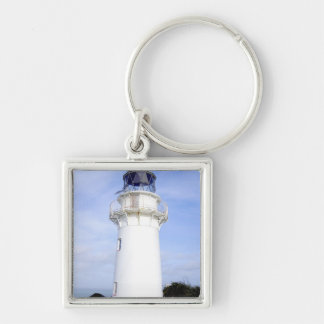 Te Araroa, New Zealand. A lighthouse gives Keychain