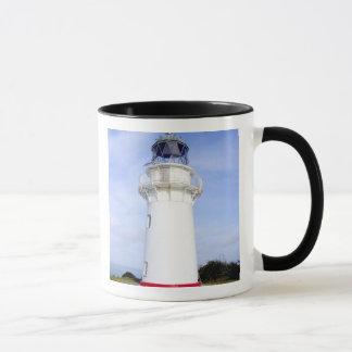 Te Araroa, New Zealand. A lighthouse gives Mug