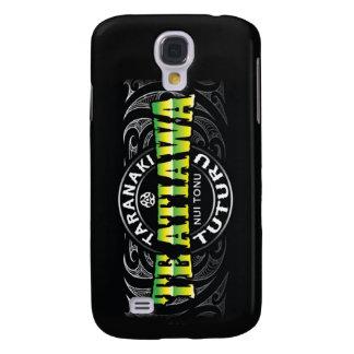 Te Atiawa Lifer Moko Green Chrome Galaxy S4 Case