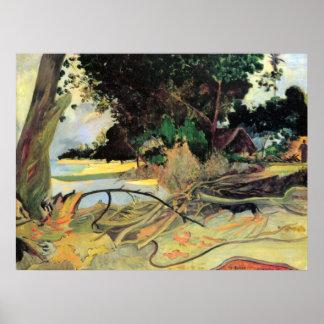 Te Burao de Eugène Enrique Paul Gauguin Impresiones