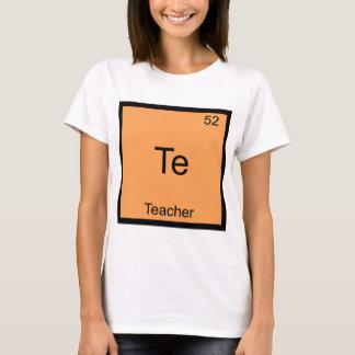 Te - camiseta divertida del símbolo del elemento