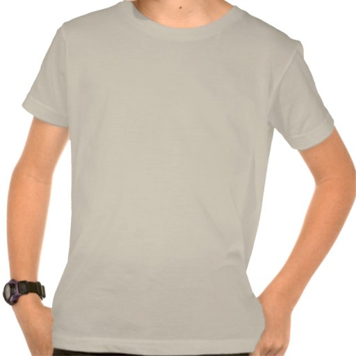Té - camiseta orgánica de los niños - natural playeras