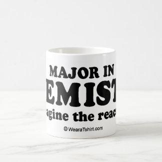 """Te """"comandante del mensaje en química """" taza de café"""
