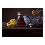 Té con el limón y la miel felicitaciones