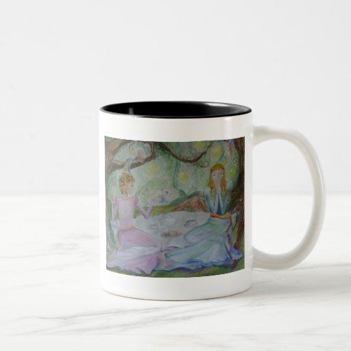 Té de hadas taza de café