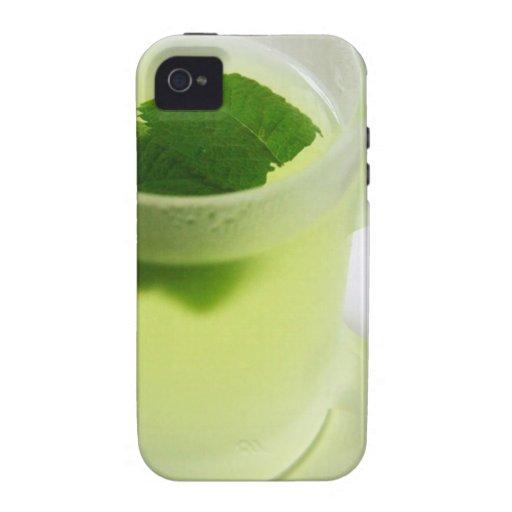 Té de la hierbabuena iPhone 4 fundas
