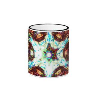 Té de la jalea de la meditación taza a dos colores