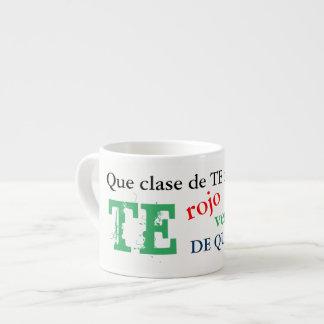 Te de querer mug    tea mug